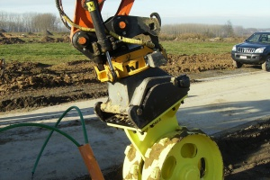 Compaction wheels