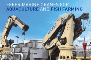 Effer Marine Kraan voor Aquaculture en Fish Farming