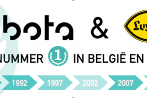 """Luyckx - Kubota al 35 jaar nummer """"1"""" in België"""