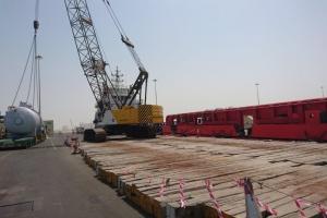 Aertssen Services breidt haar kabelkraan vloot verder uit in het Midden Oosten
