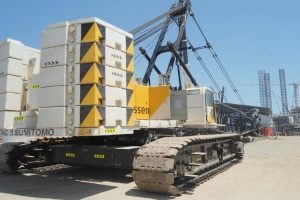 Aertssen expands its crawler crane fleet