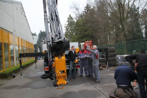 Formation machinistes pour grues camion Effer