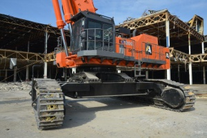 Belgian Block Brute - it is phenomenally powerful, very productive and slews really quickly