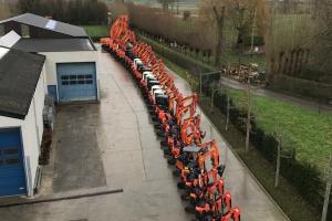 Uitbreiding machinepark Depuydt Verhuur