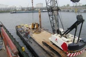 Twee nieuwe Effer marine kranen voor Oiltanking Stolthaven Antwerp NV