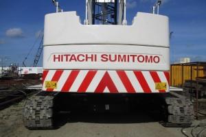 HERBOSCH-KIERE breidt haar vloot uit met twee nieuwe Hitachi-Sumitomo kranen