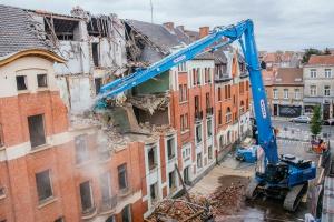 WANTY GROUPE neemt ZX490LCH-6  High Demolition in dienst