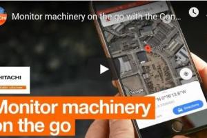 HITACHI maakt monitoring van machines op afstand gemakkelijk