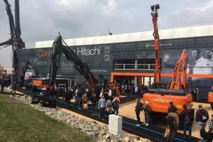 Connect with Hitachi op de BAUMA