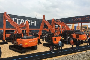 Connect with Hitachi at BAUMA