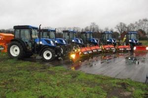 Levering 8 tractoren STAD ANTWERPEN