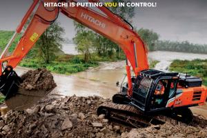 Test de nieuwe generatie Hitachi en Kubota machines!