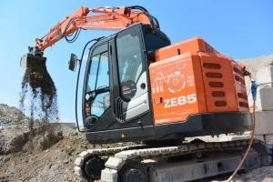 Excavators zero emission