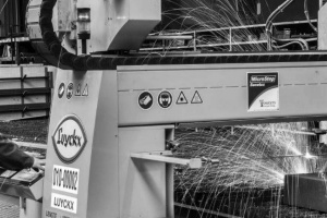 Hoogtechnologisch machinepark