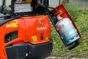 Kubota LPG mini excavator