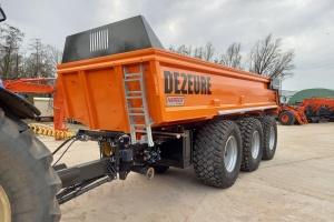 3-assige Dezeure gronddumper uit voorraad leverbaar