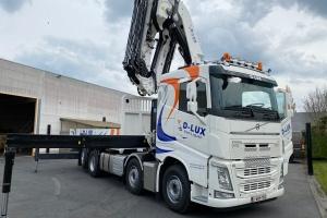 D-Lux chose an Effer 685-6S + jib 6S Heavy duty