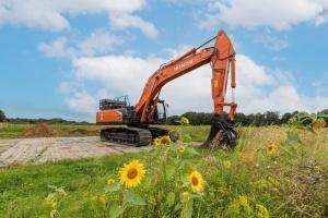 La première excavatrice à hydrogène de 37 tonnes au monde