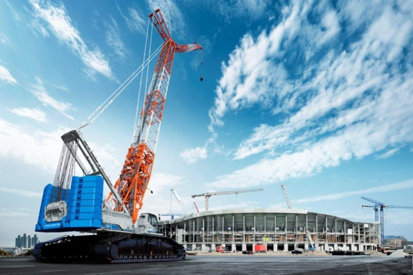 stage III A - Lifting capacity: 350 x 5.0 t x m