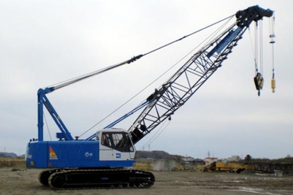 Lifting capacity: 55 x 3.7 t x m