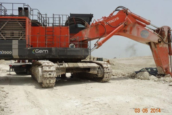 Operating weight: 192 t