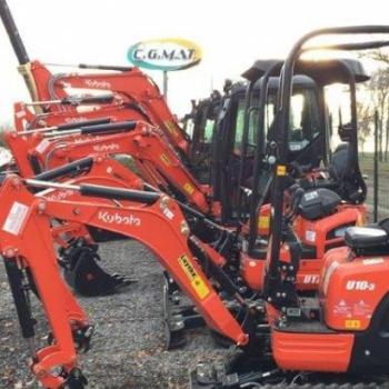 Nieuwe machines C.G. Mat