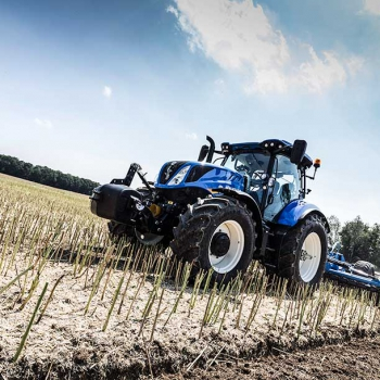 De New Holland T6.175 zet records neer tijdens testmetingen