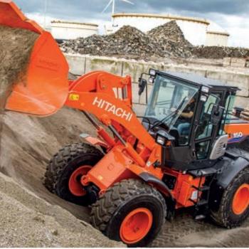 Hitachi ground control 25.  Nieuwe ZW150-6  is perfect afgestemd op behoeften.