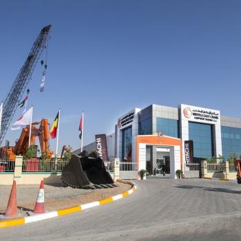 OUVERTURE  des nouvelles infrastructures Middle East Crane