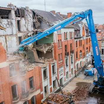 ZX490LCH-6 High Demolition en service chez WANTY GROUPE