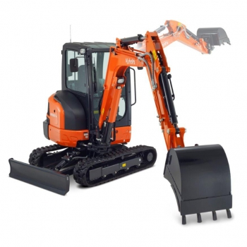 Introduction KUBOTA KX037-4