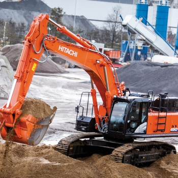 HITACHI regarde l'avenir à Bauma
