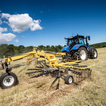 Graslanddemo NEW HOLLAND