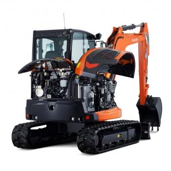 Kubota introduceert 3 nieuwe graafmachines in het 5 ton gamma