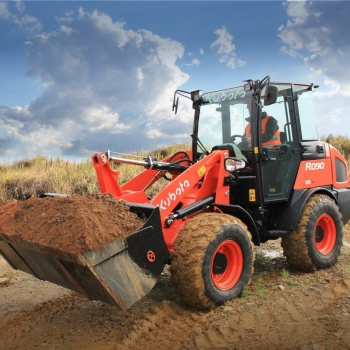 Kubota launches next‐generation R070 and R090 wheel loaders