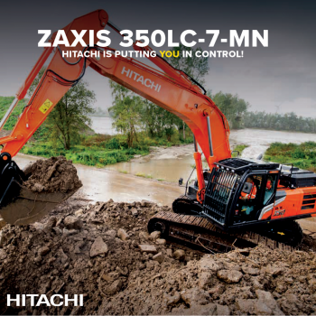 Test the new generation of Hitachi and Kubota machines