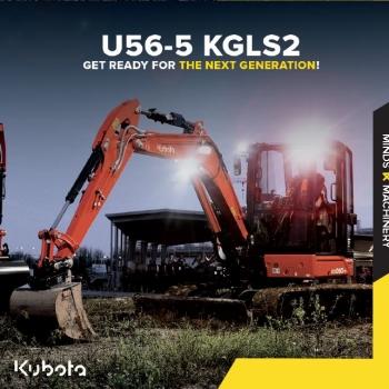 De nieuwe U56-5 staat klaar om te testen