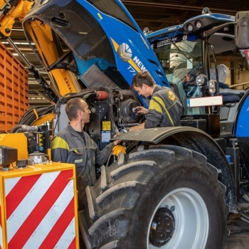 Action New Holland: winter maintenance