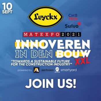 Op Matexpo: exclusief seminarie over de duurzame toekomst van de bouw