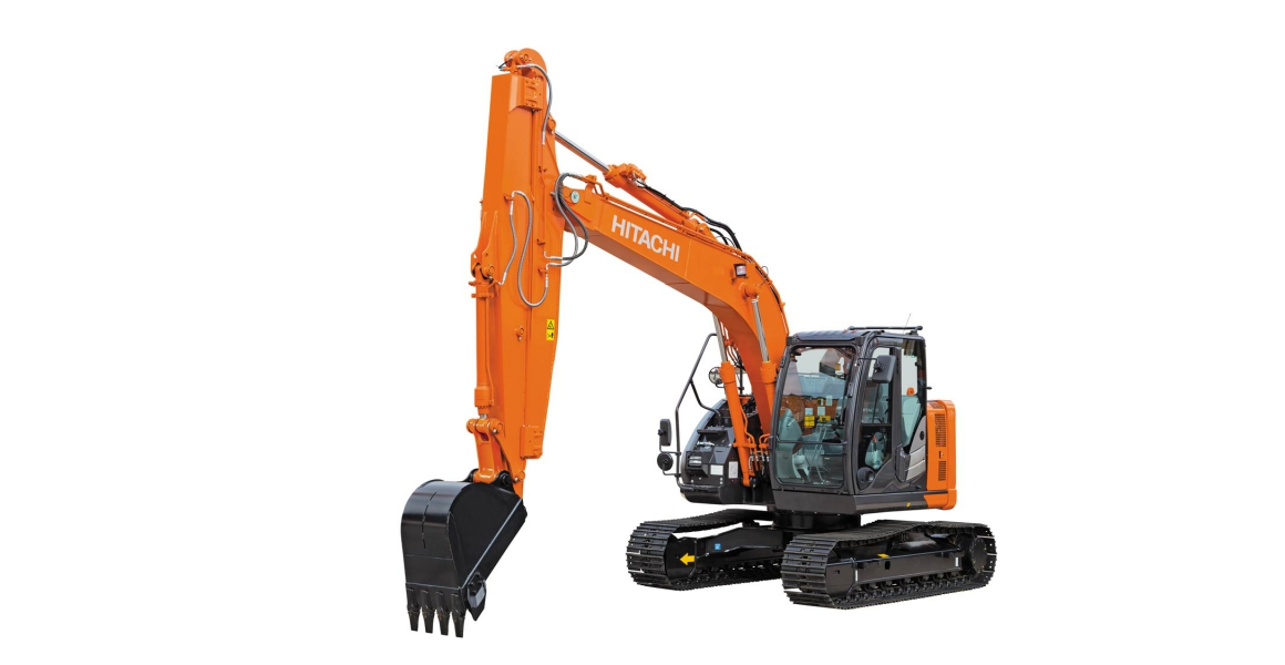 Hitachi introduces ZX135US-6 sliding arm excavator