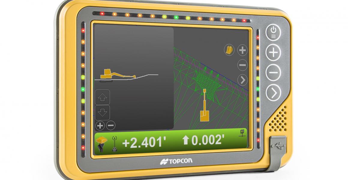Topcon lanceert nieuw modulair machinebesturingssysteem - de X-53x - voor een nog betere productiviteit